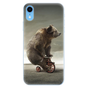 Odolné silikonové pouzdro iSaprio - Bear 01 na mobil Apple iPhone XR