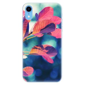 Odolné silikonové pouzdro iSaprio - Autumn 01 na mobil Apple iPhone XR