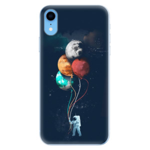 Odolné silikonové pouzdro iSaprio - Balloons 02 na mobil Apple iPhone XR