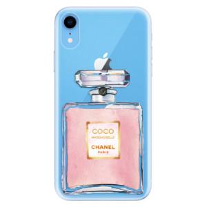 Odolné silikonové pouzdro iSaprio - Chanel Rose na mobil Apple iPhone XR