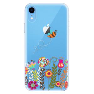 Odolné silikonové pouzdro iSaprio - Bee 01 na mobil Apple iPhone XR