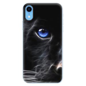 Odolné silikonové pouzdro iSaprio - Black Puma na mobil Apple iPhone XR