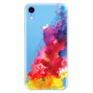 Odolné silikonové pouzdro iSaprio - Color Splash 01 na mobil Apple iPhone XR