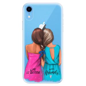 Odolné silikonové pouzdro iSaprio - Best Friends na mobil Apple iPhone XR