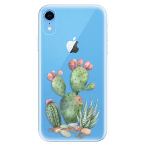 Odolné silikonové pouzdro iSaprio - Cacti 01 na mobil Apple iPhone XR