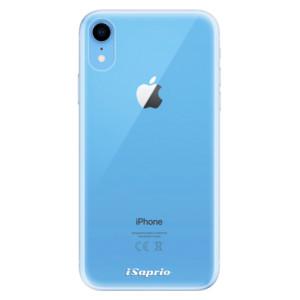Odolné silikonové pouzdro iSaprio - 4Pure - čiré bez potisku na mobil Apple iPhone XR