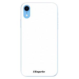 Odolné silikonové pouzdro iSaprio - 4Pure - bílé na mobil Apple iPhone XR
