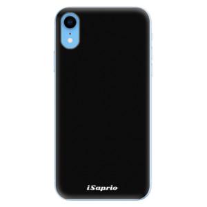 Odolné silikonové pouzdro iSaprio - 4Pure - černé na mobil Apple iPhone XR