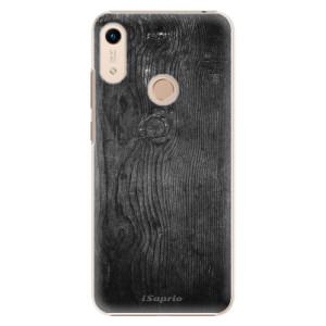 Plastové pouzdro iSaprio - Black Wood 13 na mobil Honor 8A