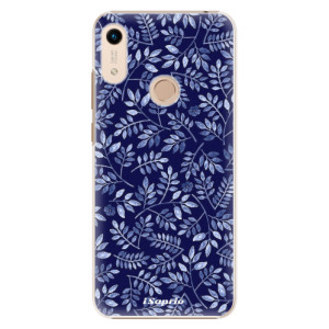 Plastové pouzdro iSaprio - Blue Leaves 05 na mobil Honor 8A