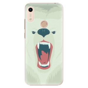 Plastové pouzdro iSaprio - Angry Bear na mobil Honor 8A