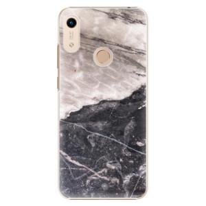 Plastové pouzdro iSaprio - BW Marble na mobil Honor 8A