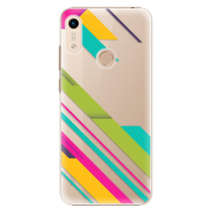 Plastové pouzdro iSaprio - Color Stripes 03 na mobil Honor 8A