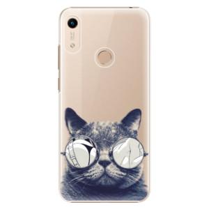 Plastové pouzdro iSaprio - Crazy Cat 01 na mobil Honor 8A