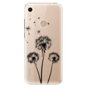 Plastové pouzdro iSaprio - Three Dandelions - black na mobil Honor 8A