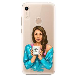 Plastové pouzdro iSaprio - Coffe Now - Brunette na mobil Honor 8A
