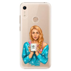 Plastové pouzdro iSaprio - Coffe Now - Redhead na mobil Honor 8A