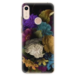 Plastové pouzdro iSaprio - Dark Flowers na mobil Honor 8A