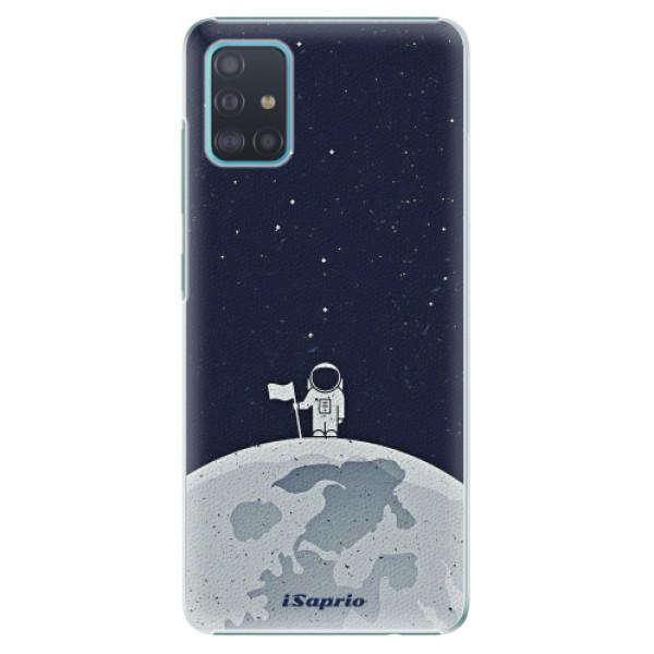 Levně Plastové pouzdro iSaprio - On The Moon 10 - Samsung Galaxy A51