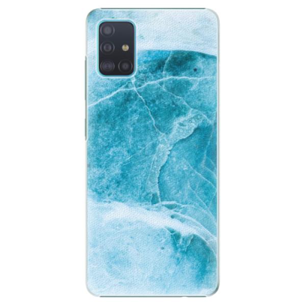 Plastové pouzdro iSaprio - Blue Marble - Samsung Galaxy A51