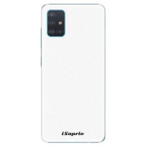 Plastové pouzdro iSaprio - 4Pure - bílé na mobil Samsung Galaxy A51