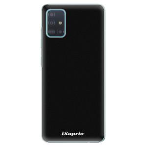Plastové pouzdro iSaprio - 4Pure - černé na mobil Samsung Galaxy A51