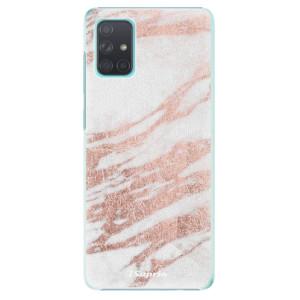 Plastové pouzdro iSaprio - RoseGold 10 na mobil Samsung Galaxy A71 - poslední kus za tuto cenu