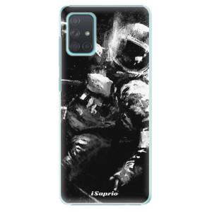 Plastové pouzdro iSaprio - Astronaut 02 na mobil Samsung Galaxy A71