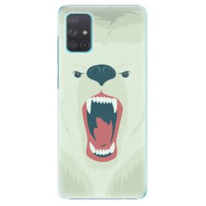 Plastové pouzdro iSaprio - Angry Bear na mobil Samsung Galaxy A71