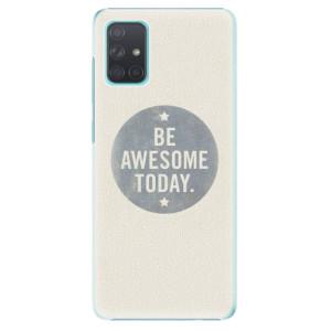 Plastové pouzdro iSaprio - Awesome 02 na mobil Samsung Galaxy A71