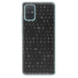 Plastové pouzdro iSaprio - Ampersand 01 na mobil Samsung Galaxy A71