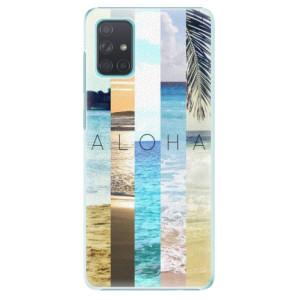 Plastové pouzdro iSaprio - Aloha 02 na mobil Samsung Galaxy A71