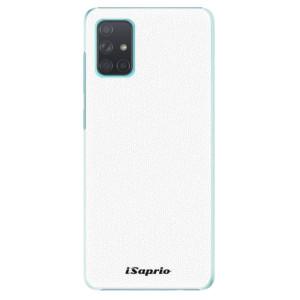 Plastové pouzdro iSaprio - 4Pure - bílé na mobil Samsung Galaxy A71