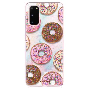 Plastové pouzdro iSaprio - Donuts 11 na mobil Samsung Galaxy S20