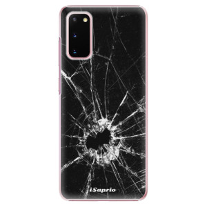 Plastové pouzdro iSaprio - Broken Glass 10 na mobil Samsung Galaxy S20