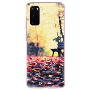 Plastové pouzdro iSaprio - Bench 01 na mobil Samsung Galaxy S20