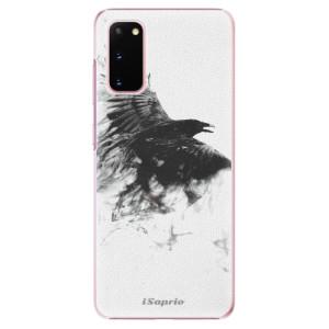 Plastové pouzdro iSaprio - Dark Bird 01 na mobil Samsung Galaxy S20