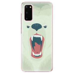 Plastové pouzdro iSaprio - Angry Bear na mobil Samsung Galaxy S20