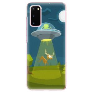 Plastové pouzdro iSaprio - Alien 01 na mobil Samsung Galaxy S20
