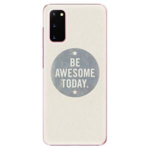 Plastové pouzdro iSaprio - Awesome 02 na mobil Samsung Galaxy S20