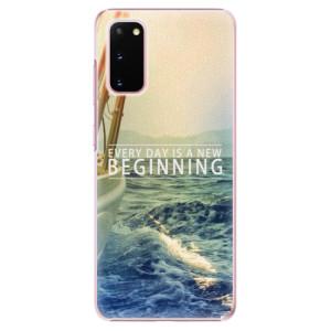 Plastové pouzdro iSaprio - Beginning na mobil Samsung Galaxy S20