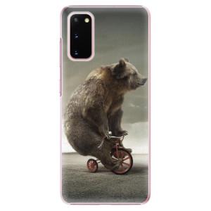 Plastové pouzdro iSaprio - Bear 01 na mobil Samsung Galaxy S20
