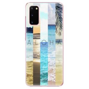 Plastové pouzdro iSaprio - Aloha 02 na mobil Samsung Galaxy S20