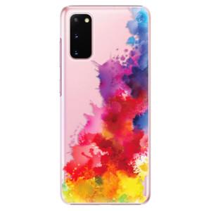 Plastové pouzdro iSaprio - Color Splash 01 na mobil Samsung Galaxy S20