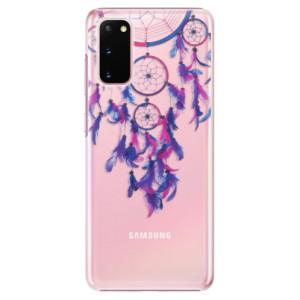 Plastové pouzdro iSaprio - Dreamcatcher 01 na mobil Samsung Galaxy S20