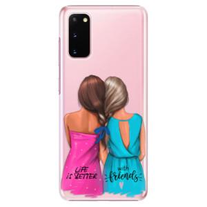Plastové pouzdro iSaprio - Best Friends na mobil Samsung Galaxy S20