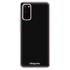 Plastové pouzdro iSaprio - 4Pure - černé na mobil Samsung Galaxy S20