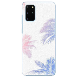 Plastové pouzdro iSaprio - Digital Palms 10 na mobil Samsung Galaxy S20 Plus
