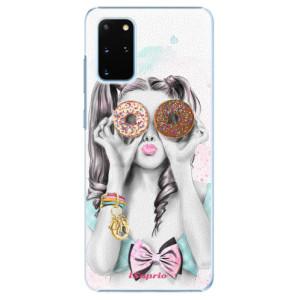Plastové pouzdro iSaprio - Donuts 10 na mobil Samsung Galaxy S20 Plus