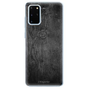 Plastové pouzdro iSaprio - Black Wood 13 na mobil Samsung Galaxy S20 Plus